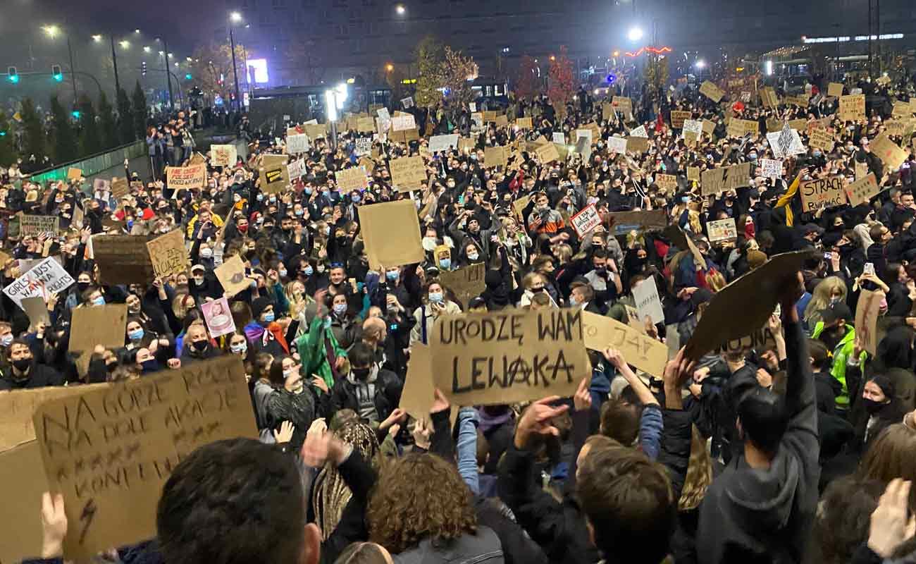 Strajk Kobiet w Krakowie