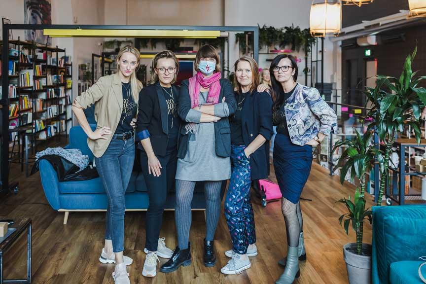 Miasto Kobiet team i Ola Budzynska
