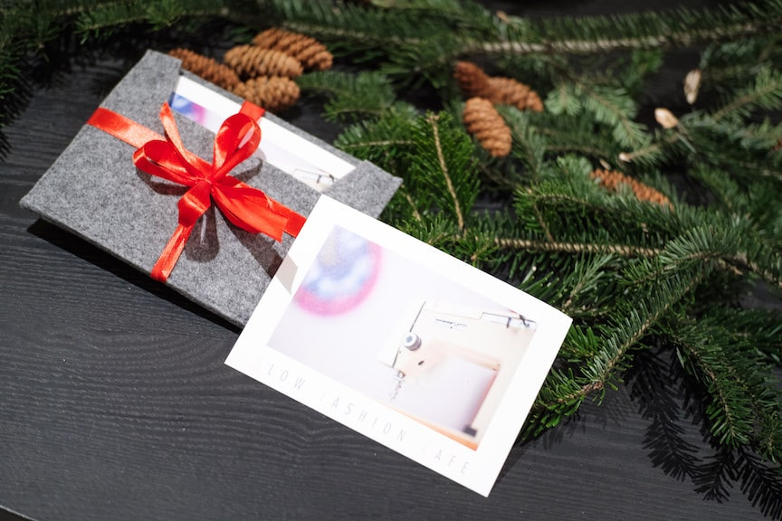 świąteczny bon na kurs szycia