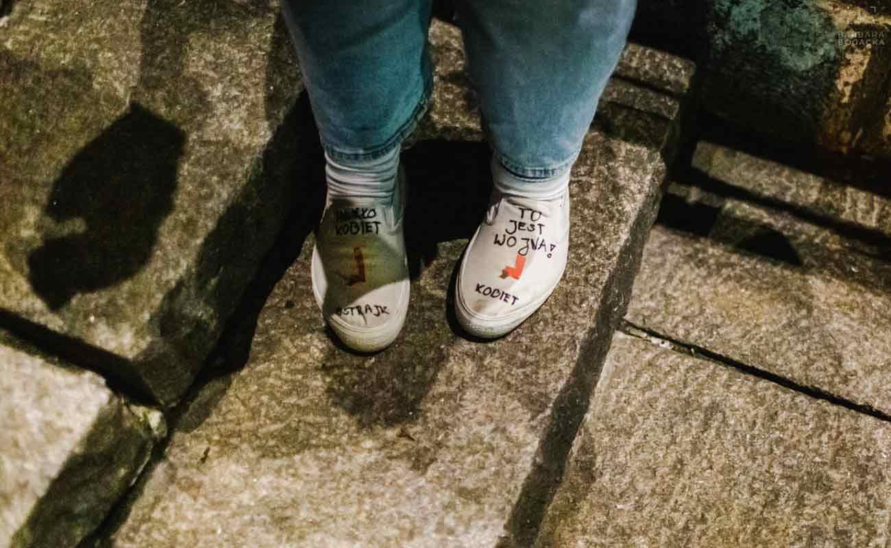 Aneta Pondo o strajku kobiet