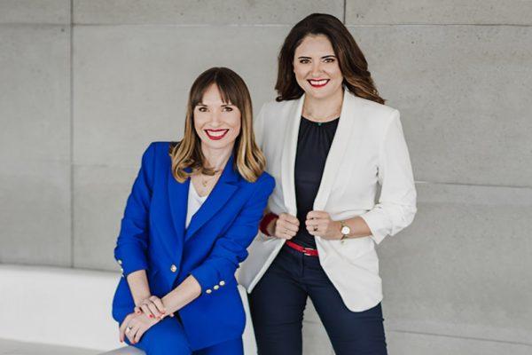 Od lewej: Paulina Maslich i Anna Rząca